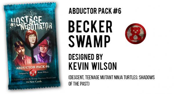 Hostage Negotiator: Abductor Pack #6 - Becker Swamp