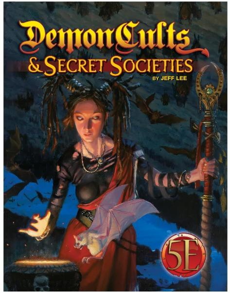 Dungeons & Dragons RPG: Demon Cults & Secret Societies for 5th Edition