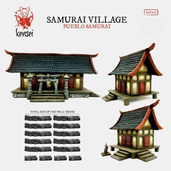 Kensei: (Terrain) Samurai Village