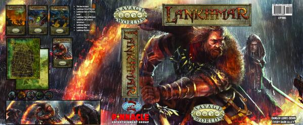 Savage Worlds RPG: Lankhmar City of Thieves Collector's Box Set