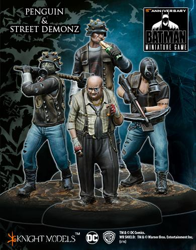Batman Miniature Game: PENGUIN AND STREET DEMONZ