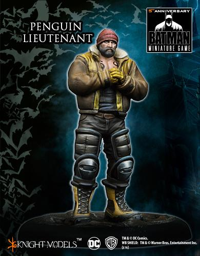 Batman Miniature Game: PENGUIN LIEUTENANT