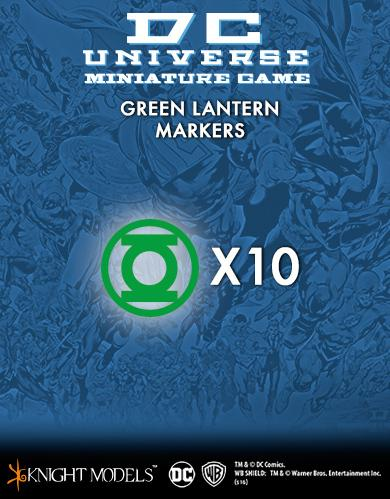 Knight Models DC Universe: (Accessories) GREEN LANTERN MARKERS