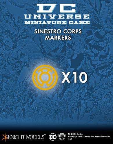 Knight Models DC Universe: (Accessories) SINESTRO CORPS MARKERS