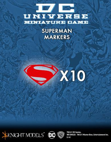Knight Models DC Universe: (Accessories) SUPERMAN MARKERS