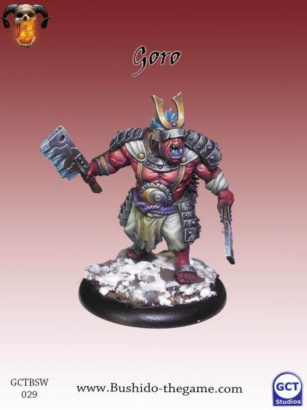 Bushido Miniatures: (Savage Wave) Goro