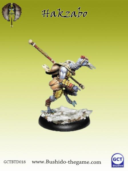 Bushido Miniatures: (Tengu Descension) Hakzabo