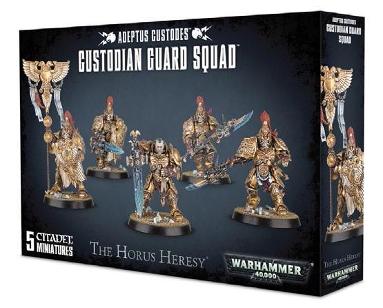Warhammer 40K: Adeptus Custodes Custodian Guard