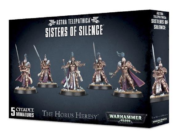 Warhammer 40K: ADEPTUS TELEPATHICA SISTERS OF SILENCE