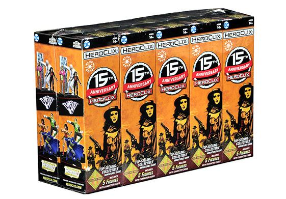 DC HeroClix: 15th Anniversary Elseworlds Booster Pack (1)