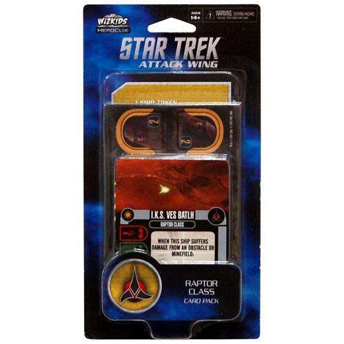 Star Trek Attack Attack Wing: Raptor Class Card Pack Wave 1
