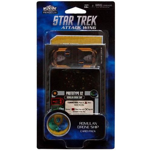Star Trek Attack Attack Wing: Romulan Drone Ship Card Pack Wave 1