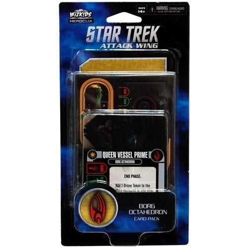 Star Trek Attack Attack Wing: Borg Octahedron Card Pack Wave 2