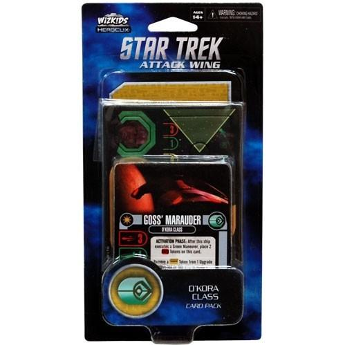 Star Trek Attack Attack Wing: D'Kora Class Ship Card Pack Wave 2