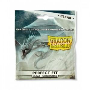 Dragon Shields: Perfect Fit Side-Loading Sleeves - Clear (100 sleeves)