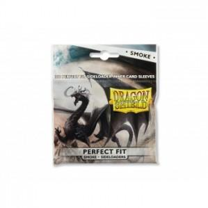 Dragon Shields: Perfect Fit Side-Loading Sleeves - Smoke (100 sleeves)