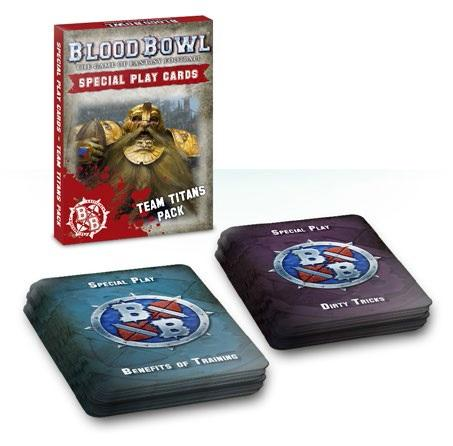 Blood Bowl: TEAM TITANS CARD PACK
