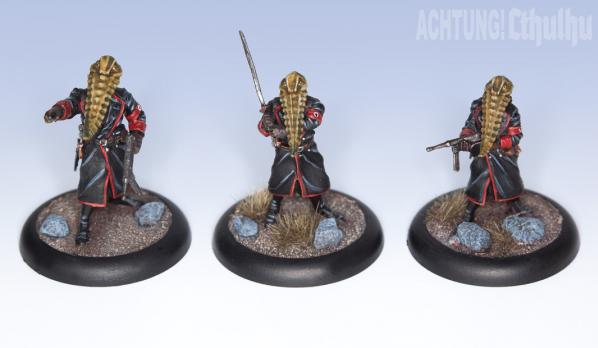 Achtung! Cthulhu Miniatures: Servitor Horde of Nyarlathotep Unit (8)