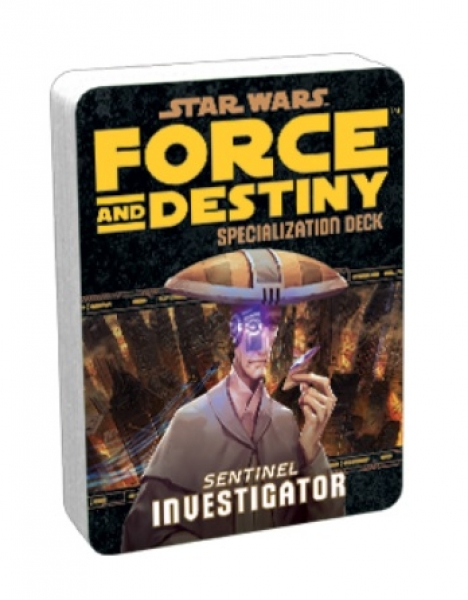 Force and Destiny RPG: Investigator Specialization Deck