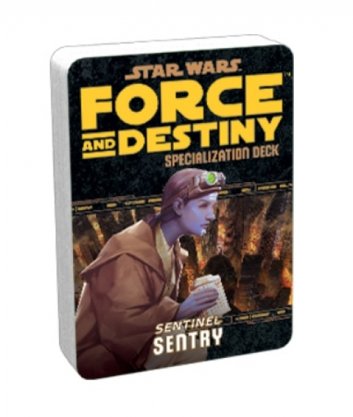 Force and Destiny RPG: Sentry Specialization Deck