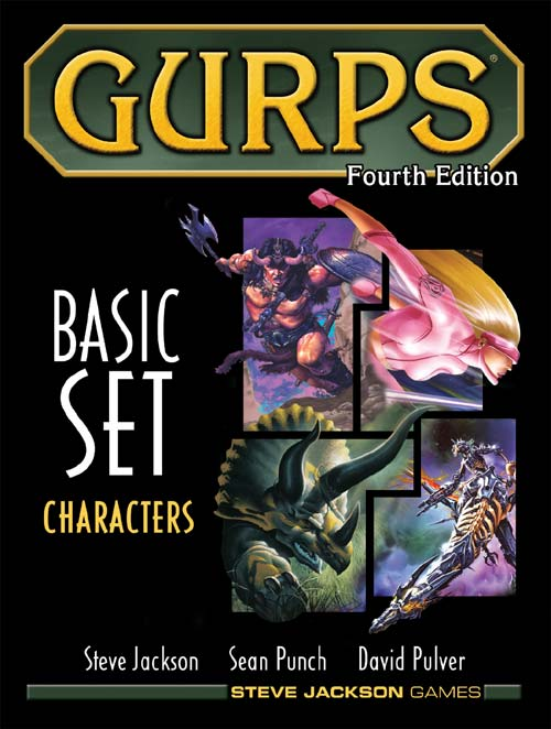 GURPS RPG - 4th Edition: Basic Set - Characters HC