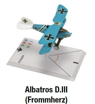 Wings Of Glory WWI Miniatures: Albatros D.III (Frommherz)
