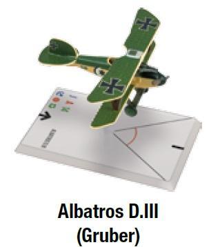 Wings Of Glory WWI Miniatures: Albatros D.III (Gruber)