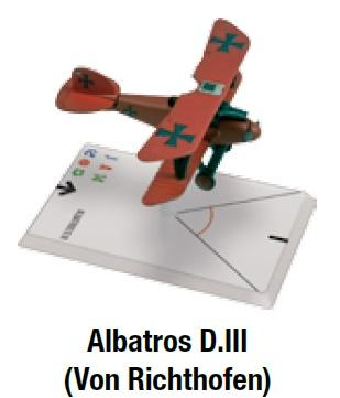 Wings Of Glory WWI Miniatures: Albatros D.III (Von Richthofen)