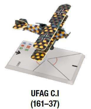 Wings Of Glory WWI Miniatures: UFAG C.I (161-37)