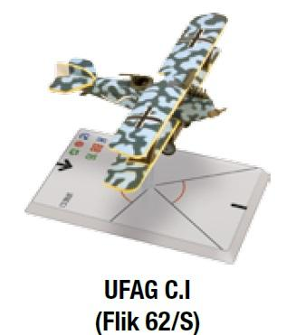 Wings Of Glory WWI Miniatures: UFAG C.I (Flik 62/S)