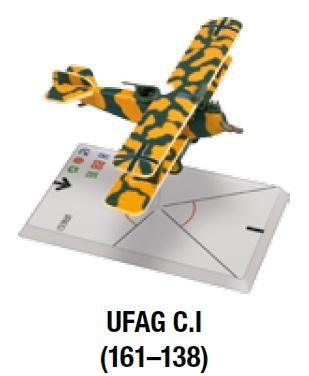 Wings Of Glory WWI Miniatures: UFAG C.I (161-138)