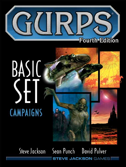 GURPS RPG - 4th Edition: Basic Set - Campaigns HC