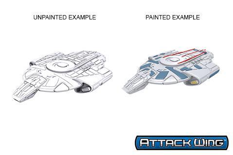 Star Trek Deep Cuts Unpainted Miniatures: Defiant Class