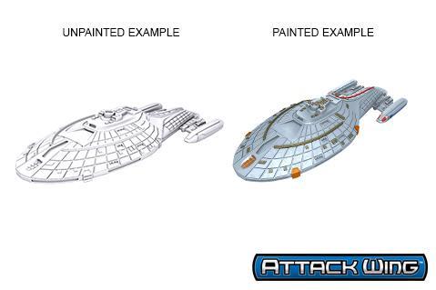 Star Trek Deep Cuts Unpainted Miniatures: Intrepid Class
