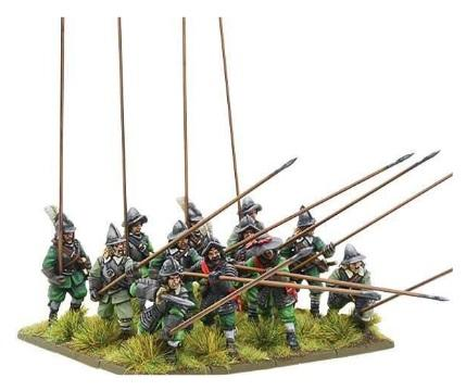 Pike & Shotte: Armoured Pikemen