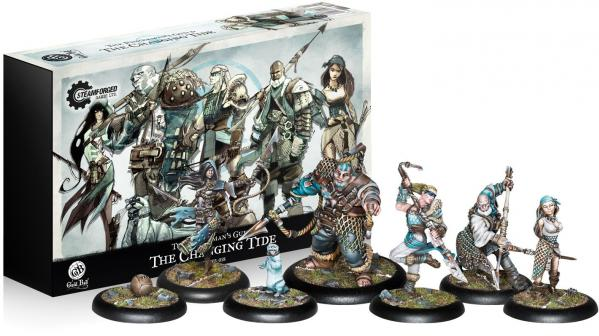 GuildBall: (Fisherman's Guild) The Changing Tides Team Box Set (Season 3)