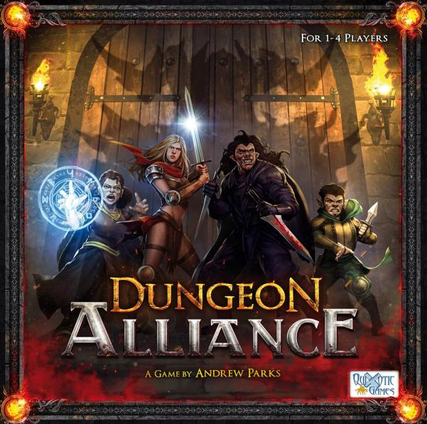Dungeon Alliance Deck Building Game