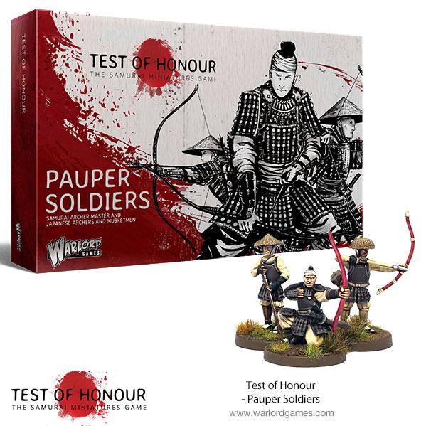 Test of Honour: Pauper Soldiers