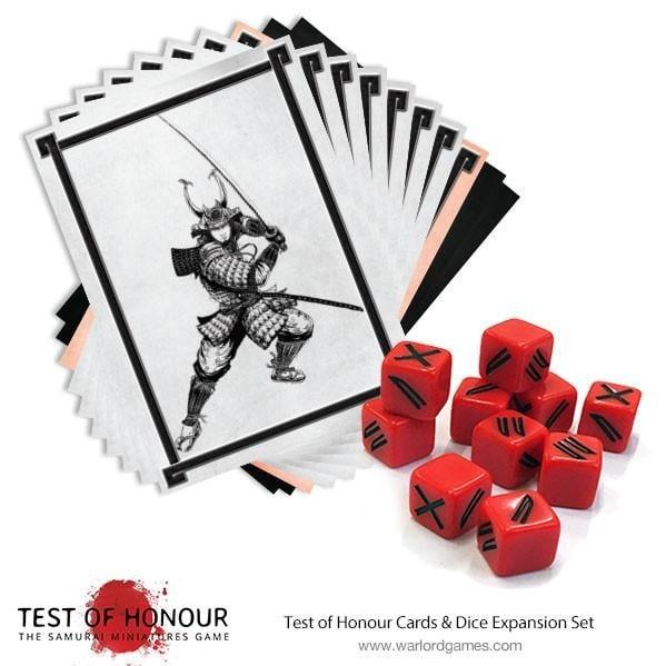 Test of Honour: Test of Honour Dice & Cards Expansion