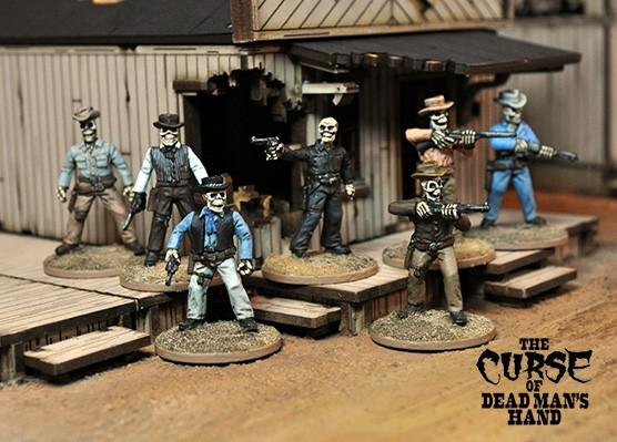 The Curse of Dead Man's Hand: The Malevolent Seven Boxed Gang