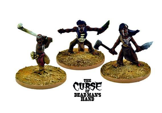 The Curse of Dead Man's Hand: Cannibal Dwarves (Ungodly Creature)