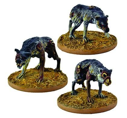 The Curse of Dead Man's Hand: Dread Wolves (Ungodly Creature)