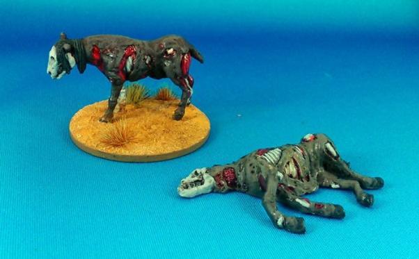 The Curse of Dead Man's Hand: Rotten Horses