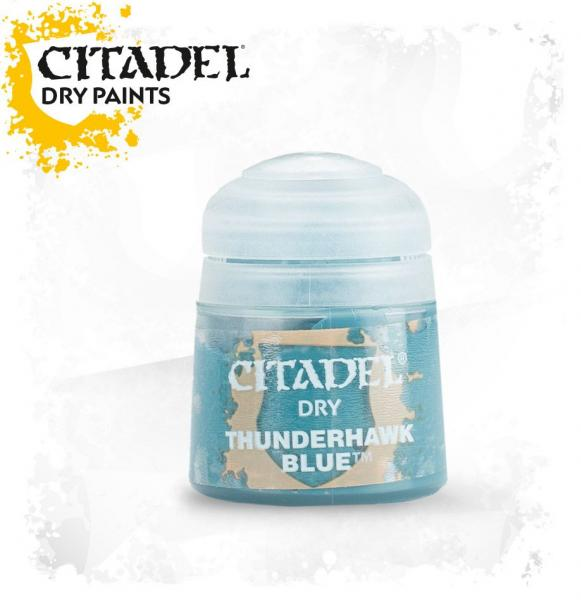 Citadel Drybrush Paints: Thunderhawk Blue