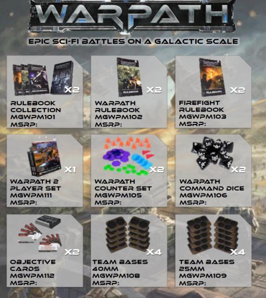 Warpath: Warpath Launch Pack Alpha [Retail Only]