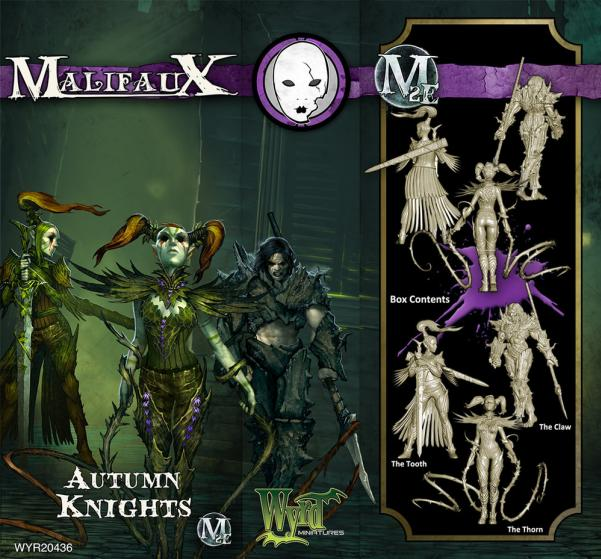 Malifaux: (The Neverborn) Autumn Knights Box Set