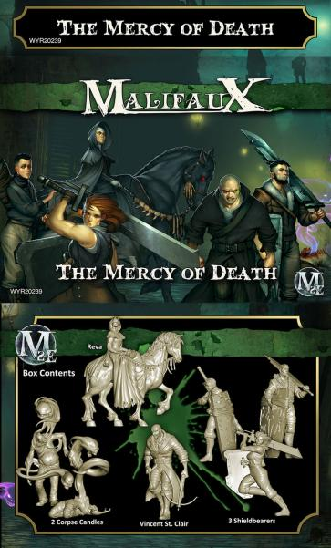 Malifaux: (The Resurrectionists) The Mercy of Death Box Set