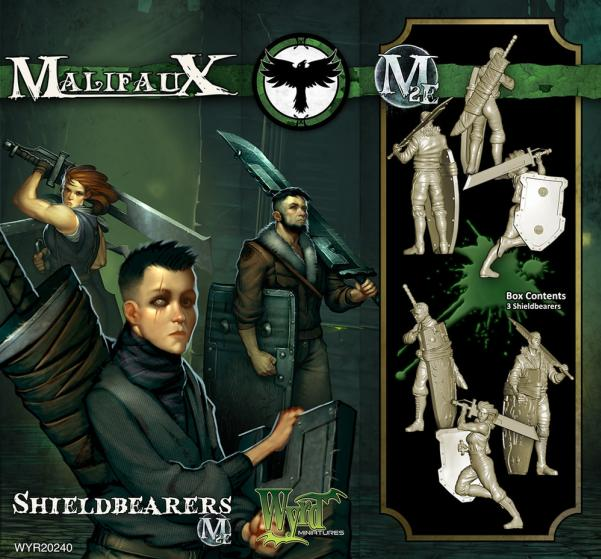 Malifaux: (The Resurrectionists) Shieldbearers