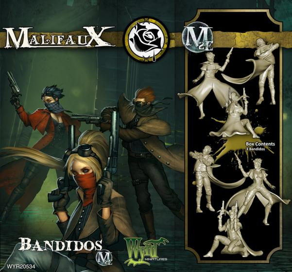 Malifaux: (The Outcasts) Bandidos Box Set