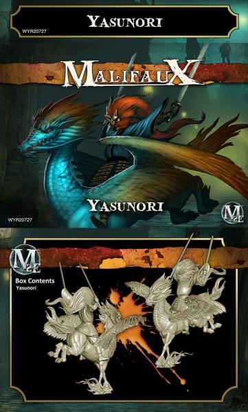 Malifaux: (Ten Thunders) Yasunori